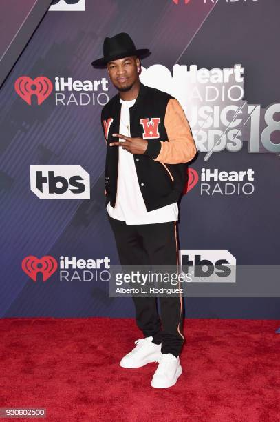 NeYo arrives at the 2018 iHeartRadio Music Awards which broadcasted live on TBS TNT and truTV at The Forum on March 11 2018 in Inglewood California