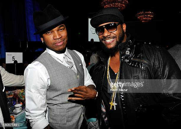 NeYo at the 52nd Annual GRAMMY Awards Salute To Icons Honoring Doug Morris held at The Beverly Hilton Hotel on January 30 2010 in Beverly Hills...