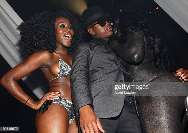 """Ne-Yo attends his 30th Birthday Bash """"Cold as Ice"""" at Cipriani 42nd Street on October 17, 2009 in New York City."""