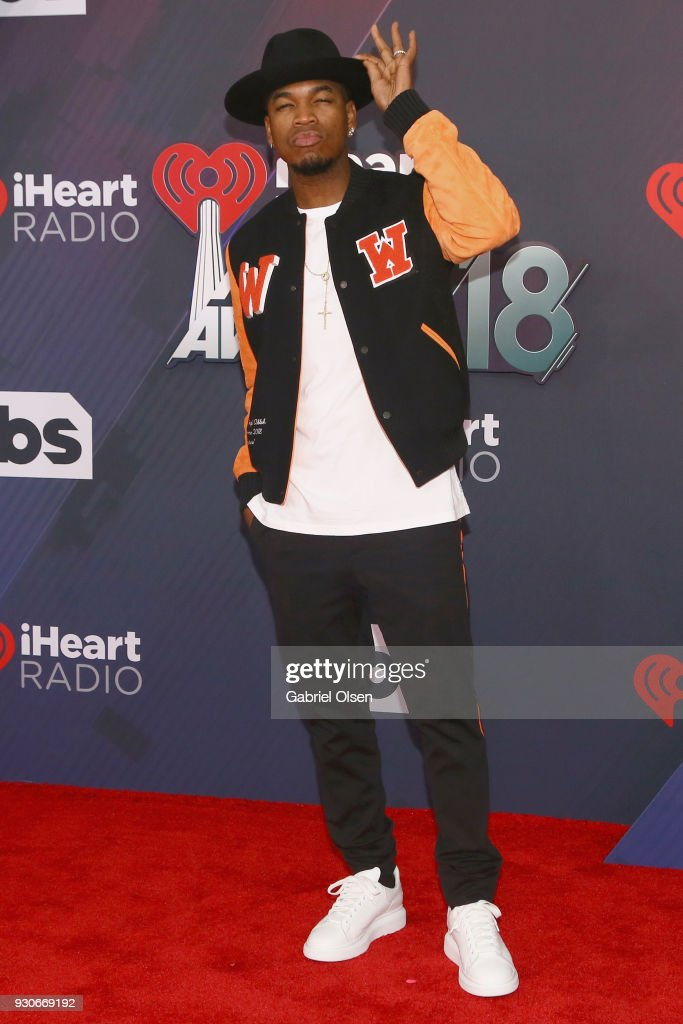 Ne-Yo attends the 2018 iHeartRadio Music Awards at the Forum on March 11, 2018 in Inglewood, California.