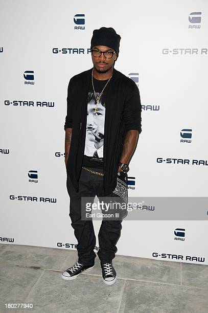 NeYo attends the GStar Raw NYFW event at The Highline Hotel on September 10 2013 in New York City