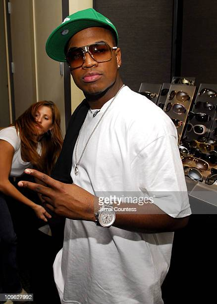 01402c6c508 NeYo in Gucci 1825 s sunglasses during Solstice Sunglass Boutique and Safilo  USA at the