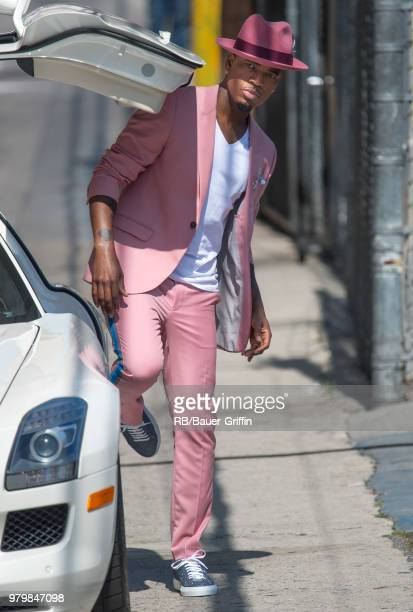 NeYo is seen at 'Jimmy Kimmel Live' on June 20 2018 in Los Angeles California