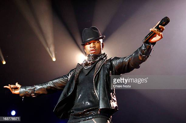 Neyo performs at 02 Arena on March 15 2013 in London England