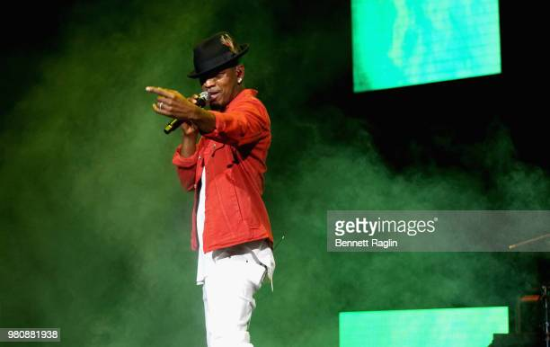 NeYo performs at BETX Live presented by Denny's during the 2018 BET Experience at Microsoft Square at LA Live on June 21 2018 in Los Angeles...