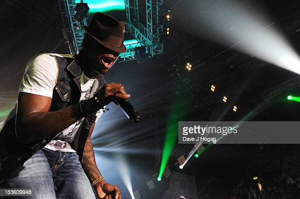 NeYo performs at the BBC Radio 1 Teen Awards 2012 at Wembley Arena on October 7 2012 in London England