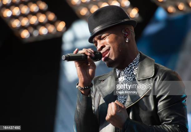 NeYo performs during MTV's 'Spring Fix' Benefit Concert at Six Flags Great Adventure on March 23 2013 in Jackson New Jersey