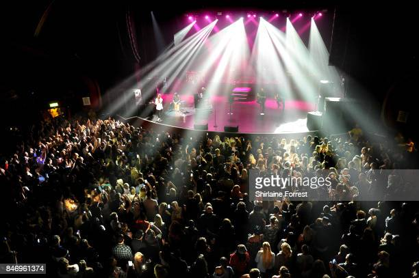NeYo performs during the opening show of his UK tour at O2 Apollo Manchester on September 13 2017 in Manchester England