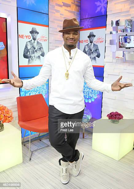 AMERICA NeYo performs live on 'Good Morning America' 1/26/15 airing on the ABC Television Network