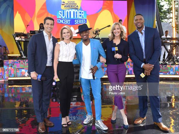 AMERICA NeYo performs live on Good Morning America as part of the GMA Summer Concert series on Friday June 8 2018 airing on the Walt Disney...