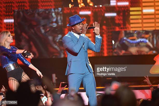 NeYo performs onstage at the 2015 Billboard Latin Music Awards presented bu State Farm on Telemundo at Bank United Center on April 30 2015 in Miami...