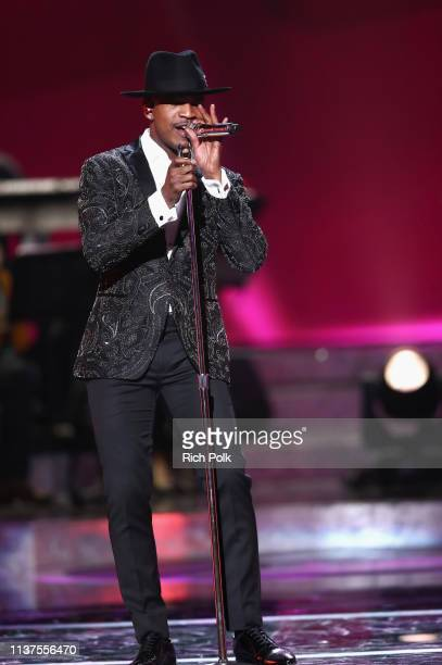 NeYo performs onstage during Motown 60 A GRAMMY Celebration at Microsoft Theater on February 12 2019 in Los Angeles California