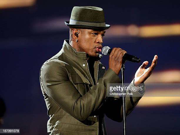 NeYo performs onstage during the CNN Heroes An All Star Tribute at The Shrine Auditorium on December 2 2012 in Los Angeles California...