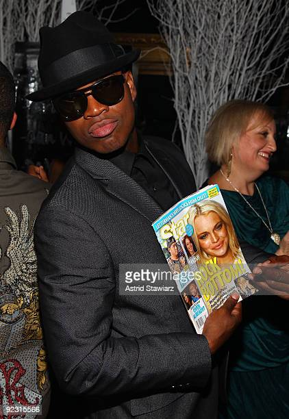 """Ne-Yo poses during his 30th Birthday Bash """"Cold as Ice"""" at Cipriani 42nd Street on October 17, 2009 in New York City."""