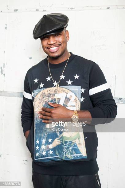 NeYo poses for a portrait during a visit at Duke Ellington School of the Arts on December 12 2013 in Washington DC