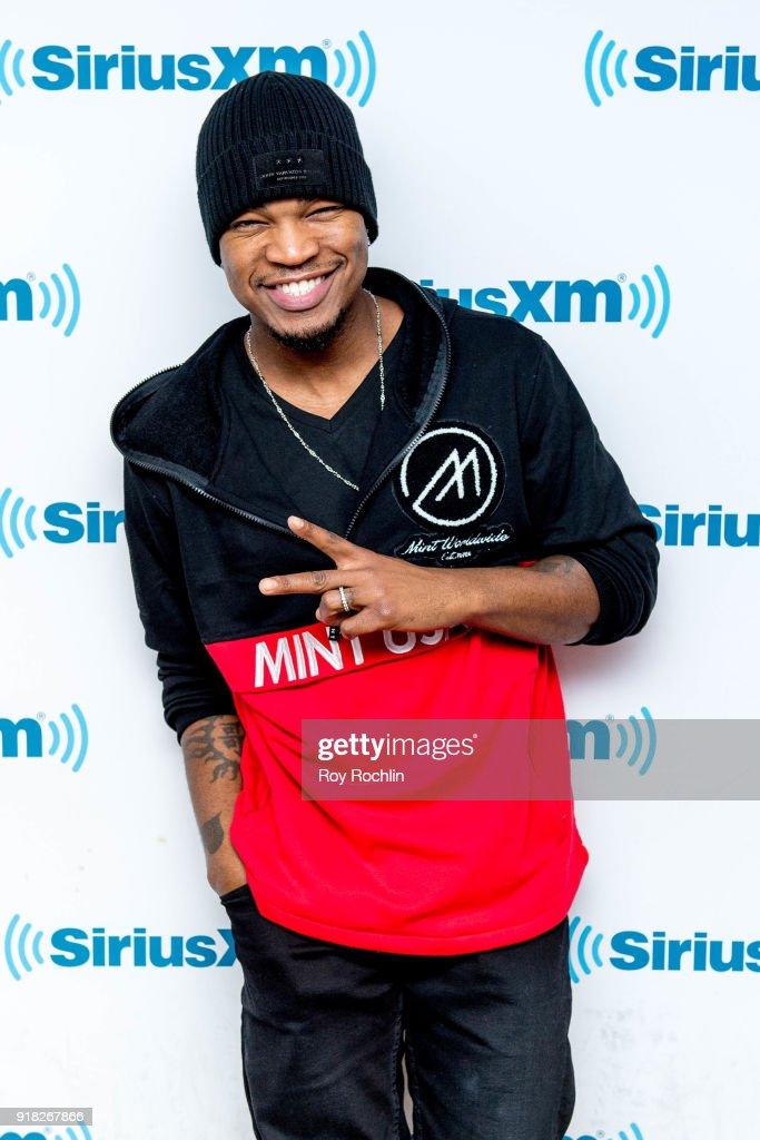 Ne-Yo visits SiriusXM at SiriusXM Studios on February 14, 2018 in New York City.
