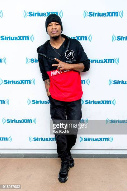 NeYo visits SiriusXM at SiriusXM Studios on February 14 2018 in New York City