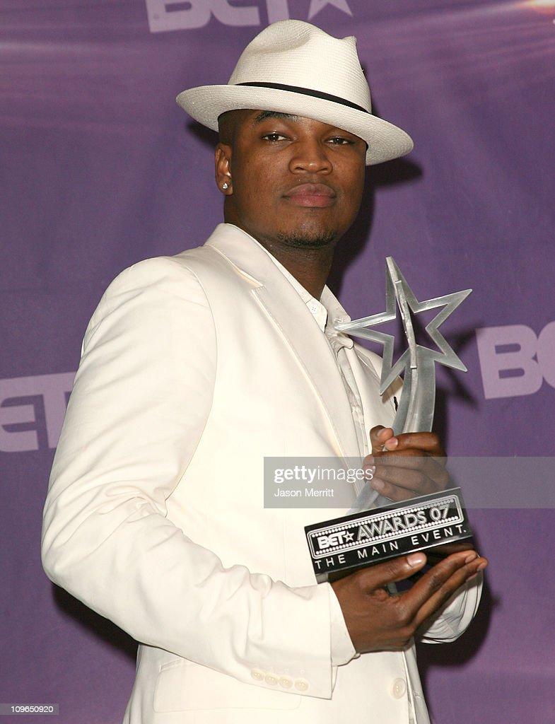 Ne-Yo, winner Best Male R&B Artist award during BET Awards 2007 - Press Room at Shrine Auditorium in Los Angeles, California, United States.