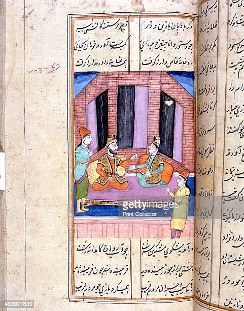 Nezami Persian poet recounting the story of Alexander the Great 12th century Nezami Ganjavi was one of the great Persian poets of the 12th century...