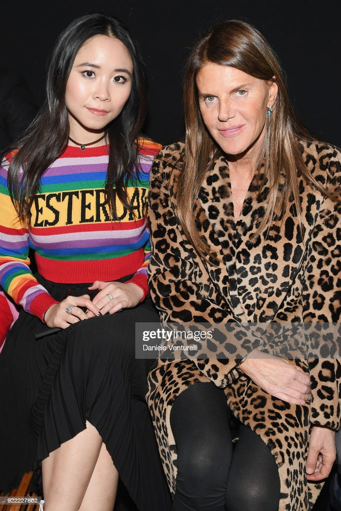 Alberta Ferretti - Front Row - Milan Fashion Week Fall/Winter 2018/19 : News Photo