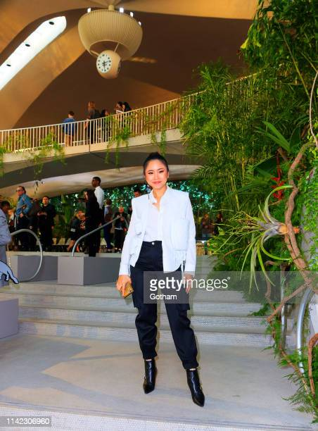 Nga Nguyen at Louis Vuitton Cruise 2020 Fashion Show on May 8 2019 in New York City