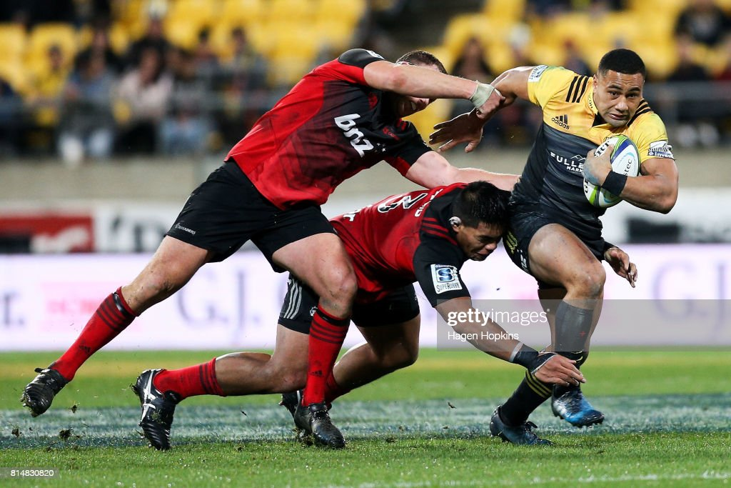 Super Rugby Rd 17 - Hurricanes v Crusaders : News Photo