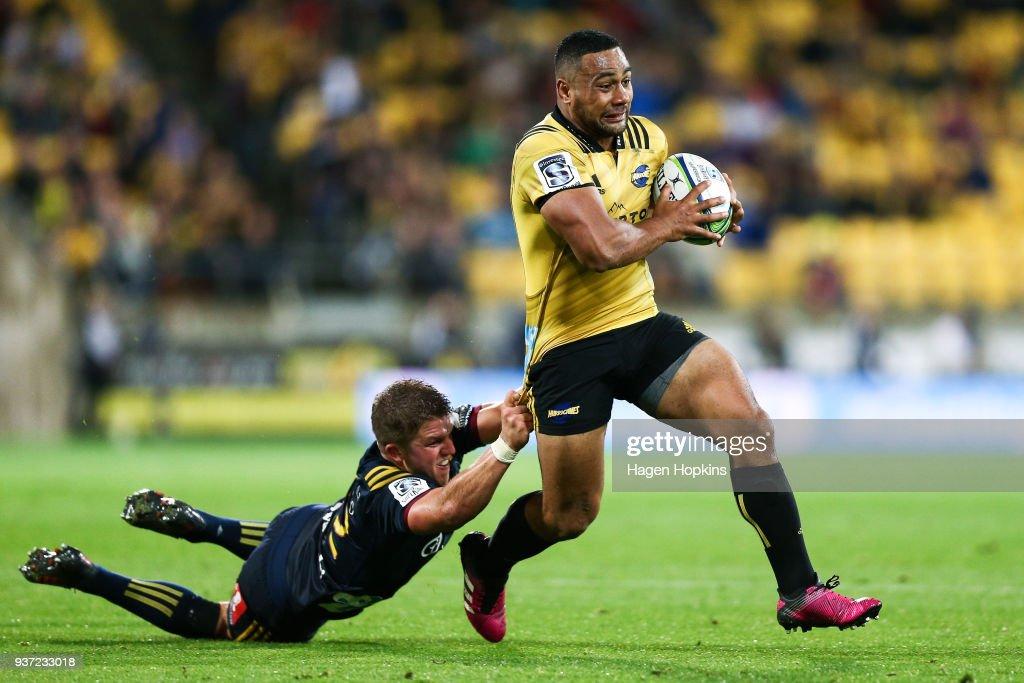 Super Rugby Rd 6 - Hurricanes v Highlanders