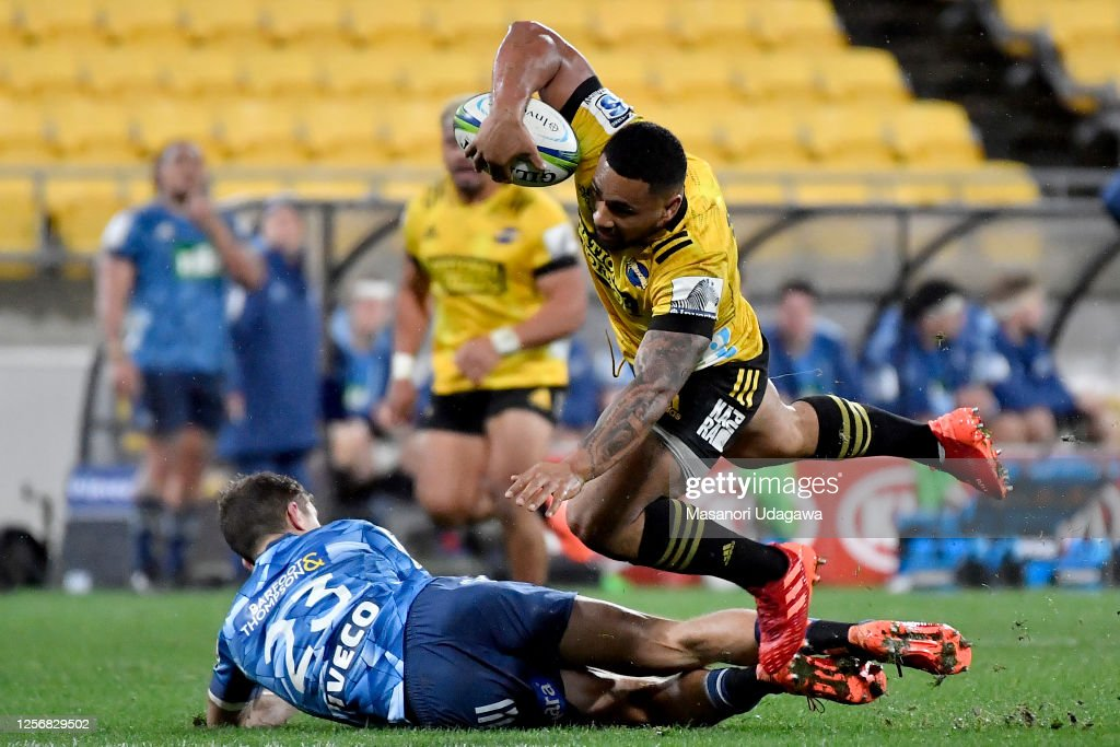 Super Rugby Aotearoa Rd 6 - Hurricanes v Blues : Fotografía de noticias