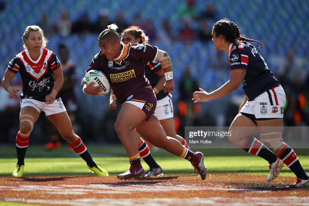 2018 NRL Women's Premiership Grand Final - Roosters v Broncos : News Photo