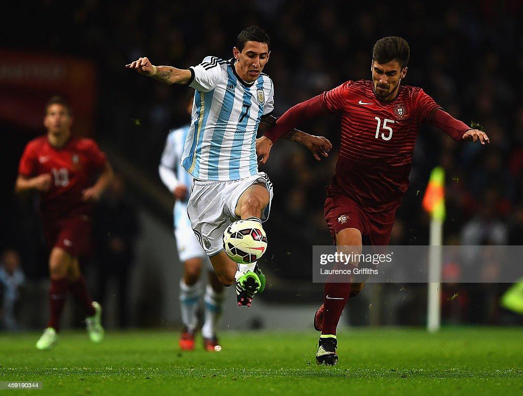 Argentina v Portugal - International Friendly : News Photo