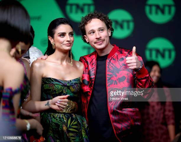 Ángela Aguilar and Luisito Comunica attend the 2020 Spotify Awards at the Auditorio Nacional on March 05 2020 in Mexico City Mexico
