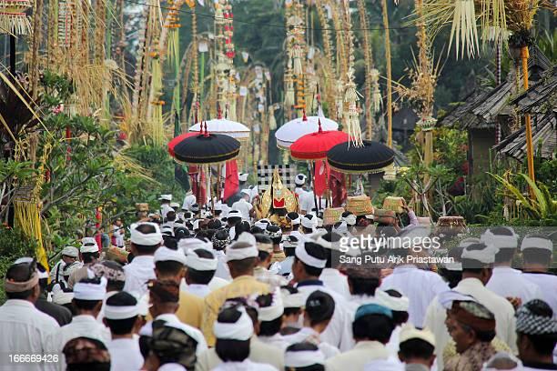 Ngemadalang is unique tradition at Penglipuran Village, Bangli, Bali. This ritual do every six month.