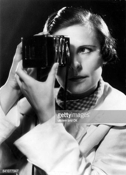 LENI RIEFENSTAHL /nGerman photographer director and actress Photographed in 1936