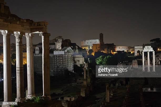 nght in rome - adriano ficarelli stock pictures, royalty-free photos & images