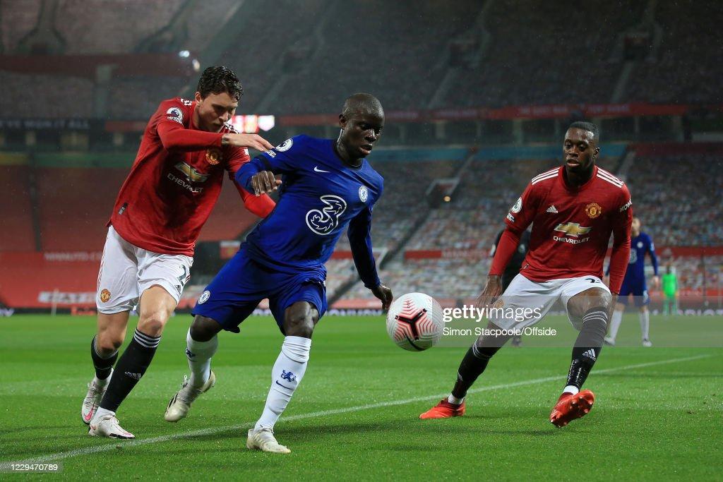 Manchester United v Chelsea - Premier League : Foto jornalística