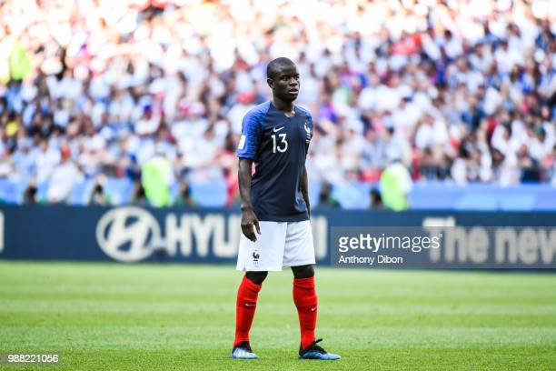 Ngolo Kante of France during the FIFA World Cup Round of 16 match between France and Argentina at Kazan Arena on June 30, 2018 in Kazan, Russia.