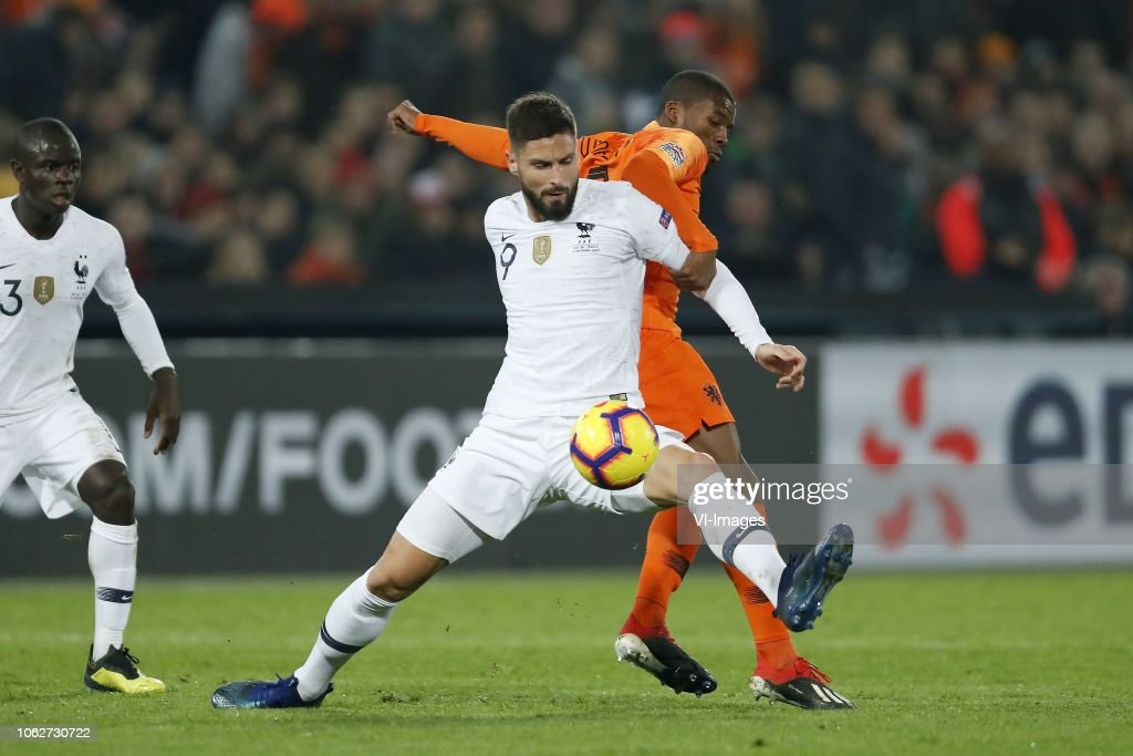 UEFA Nations League A group 1'The Netherlands v France' : News Photo