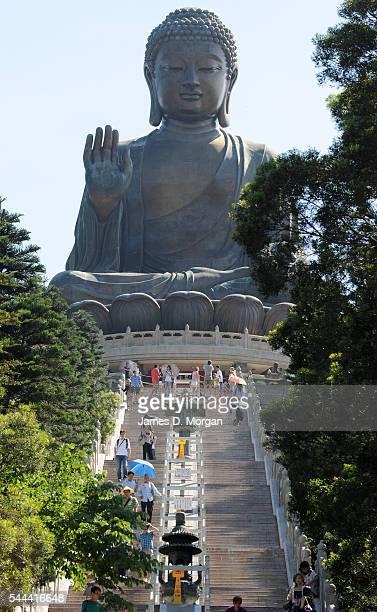 Ngong Ping 360, a dynamic new tourism experience on August 05, 2010 in Lantau, Hong Kong, China. Ngong Ping 360 is close to the Hong Kong...