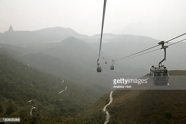 Ngong Ping Skyrail near Hong Kong