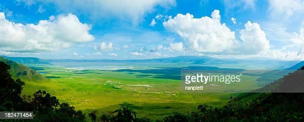 Cratère de N'Gorongoro, Tanzanie, Afrique (XXXL