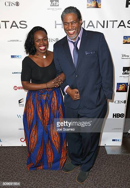 Ngozi Anyanwu Humanitas/CTG Playwright Prize Nominee and President of the Humanitas Awards Ali LeRoi attend the 41st Humanitas Prize Awards Ceremony...
