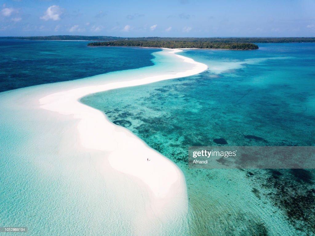 Ngurtafur Beach Kei Islands Maluku Indonesia Stock Photo
