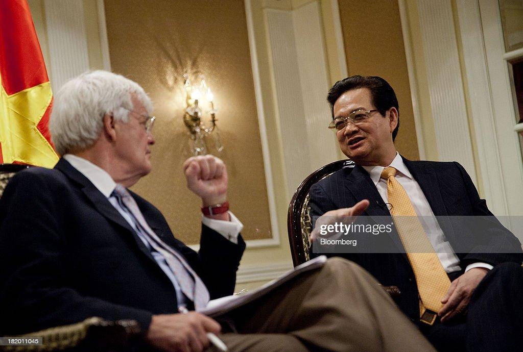 Vietnamese Prime Minister Nguyen Tan Dung Interview