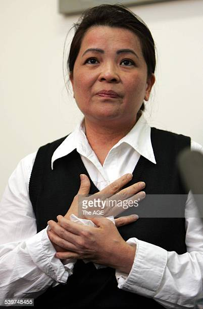 Nguyen Tuong Van Kim Nguyen mother of Nguyen Tuong Van who has been sentenced to death by hanging in Singapore on drug offences 23 October 2005 THE...