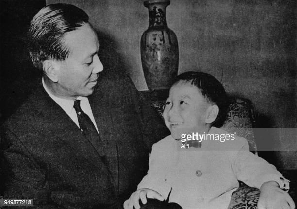 Nguyen Van Thieu et son fils Nguyen Quang Loc Vietnam