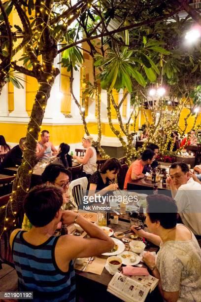 Nha Hang Ngon restaurant in downtown Ho Chi Minh City, Vietnam