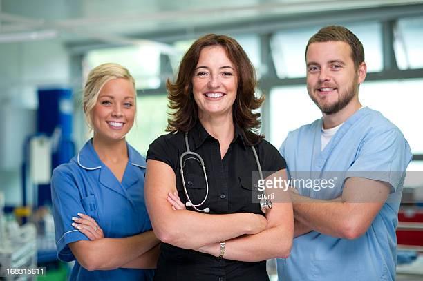 nhs medical team