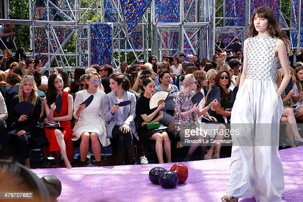 Ni Ni Actress Leelee Sobieski Actress Chiara Mastroianni Actress Yu Aoi Musician Grimes Actress Emily Blunt and Katia Toledano attend the Christian...