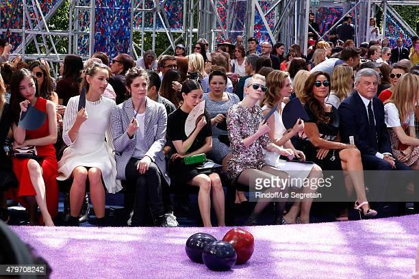 Ni Ni Actress Leelee Sobieski Actress Chiara Mastroianni Actress Yu Aoi Musician Grimes Actress Emily Blunt Katia Toledano and her husband CEO Dior...