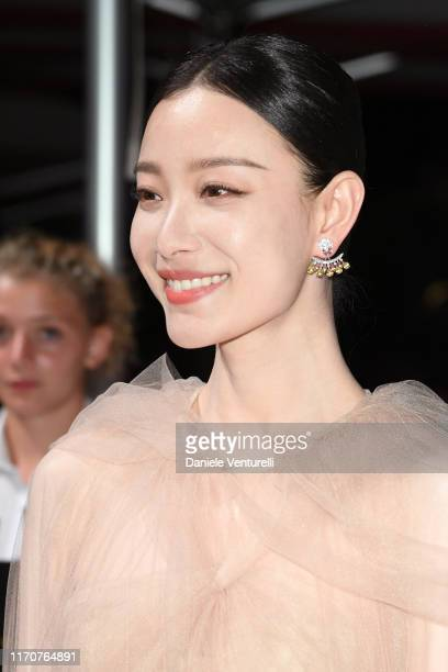 Ni Ni attends the opening ceremony dinner during the 76th Venice Film Festival at Excelsior Hotel on August 28 2019 in Venice Italy